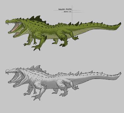 Blink: Parasitic twin Alligator Monster
