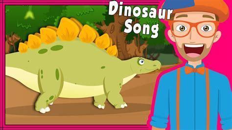 Blippi Dinosaur Song and More | Educational Videos for ...