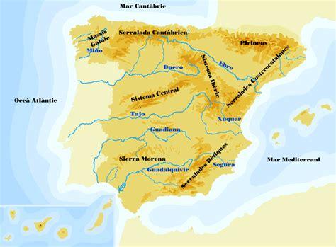 Bloc de Cicle Superior: Mapa d Espanya.