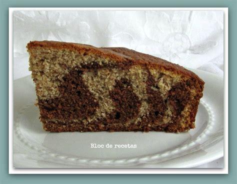 Bloc de recetas: Bizcocho cebra de harina de espelta