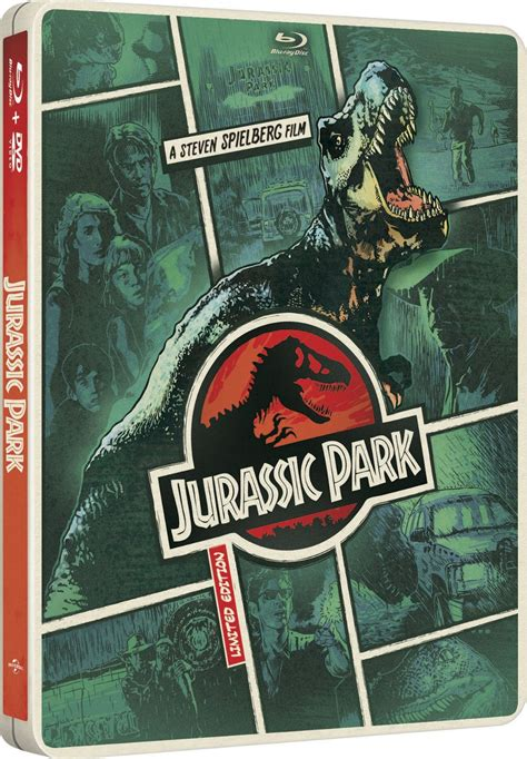 """Blockbuster """"Jurassic Park"""" coming to US Steelbook in May ..."""