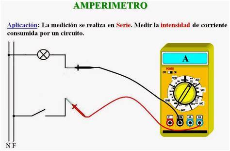Blog de Jorge Lloris: Medida de intensidad de corriente.