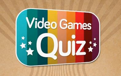 Blog de WindWaka: Soluciones Video Games Quiz  5 primeros ...