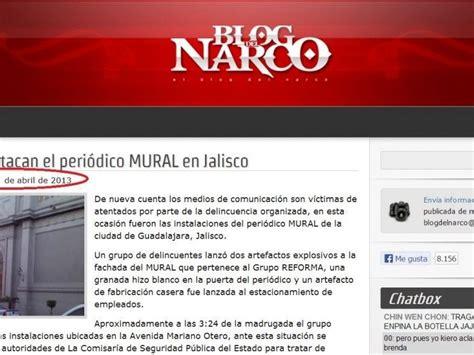 Blog del Narco no se actualiza desde el 17 de abril   Info ...