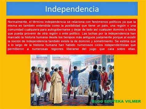 BLOG EDUTEKA VILMER: LA INDEPENDENCIA DE LOS ESTADOS UNIDOS