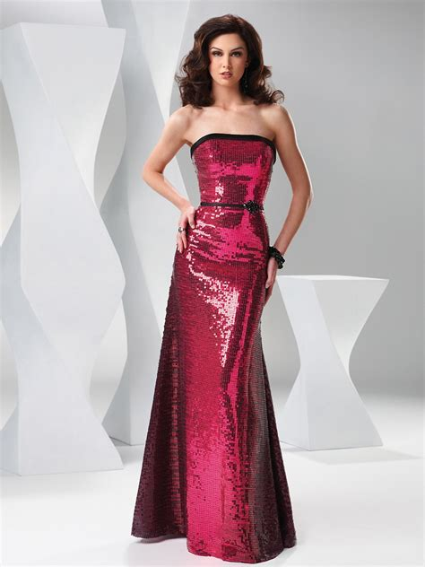 Blog for Dress Shopping: 10 Sparkling Sequined Evening Gowns
