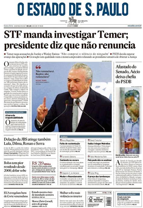 Blog Sete Candeeiros Cajá: As manchetes do jornal O Estado ...
