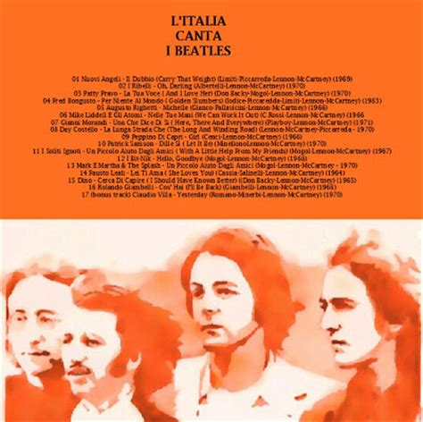 BlogDoPimentel   Beatles   Tributes & Covers  : L ITALIA ...