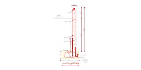 Bloques AutoCAD Gratis de detalle de armado de muro de ...
