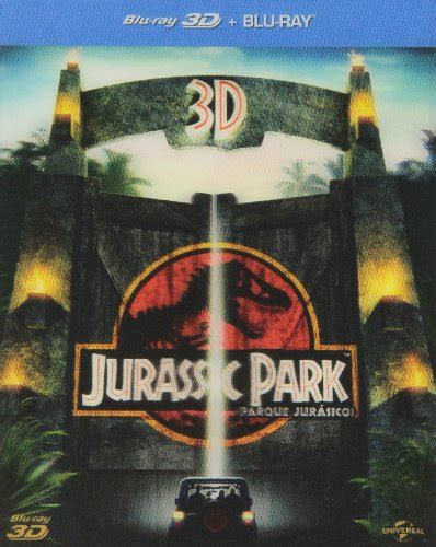 Blu ray 3D Parque Jurásico  Jurassic Park, 1993, Steven ...