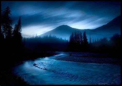 Blue Night   Beautiful Nature Photo  21889016    Fanpop