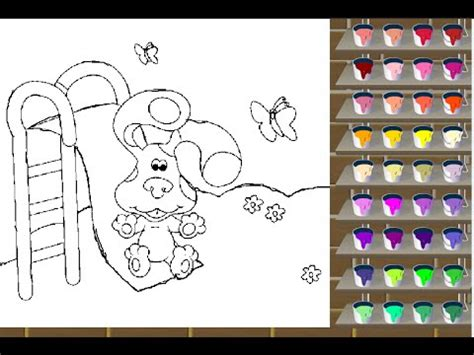 Blue s Clues Coloring Games   YouTube