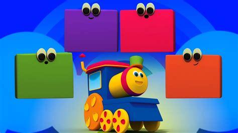 Bob cor trem | Aprender cores nomes | educacional vídeo ...