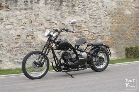 Bobber, Chopper 125 cc, neuf