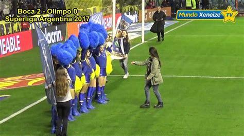 Boca 3   Olimpo 0 / Superliga Argentina 2017   YouTube