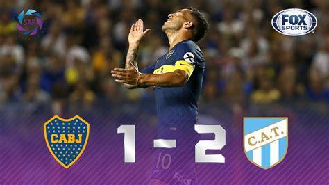 Boca Juniors   Atlético Tucumán [1 2]   GOLES   Superliga ...