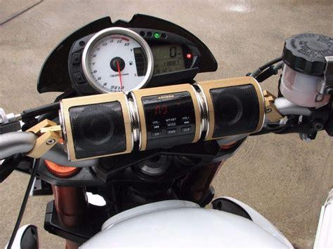 Bocinas Para Moto Bluetooth Usb Aux Sd Harley Honda Yamaha ...