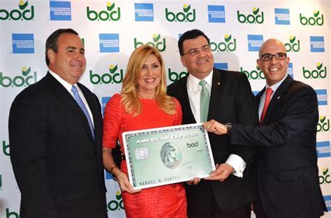 BOD lanzó su tarjeta de crédito American Express que podrá ...