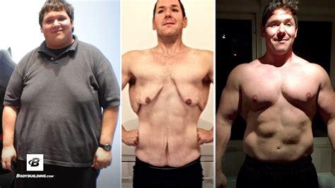 Body Transformation: A Car Crash Motivated 400 Pound Man ...