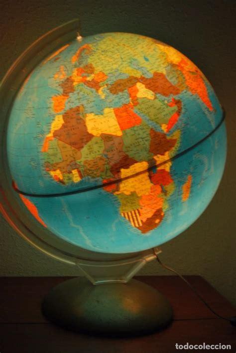 bola del mundo con luz   globo terraqueo   lámp   Comprar ...