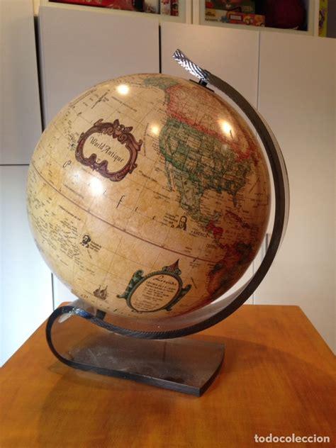 bola del mundo   globo terraqueo antiguo   worl   Comprar ...
