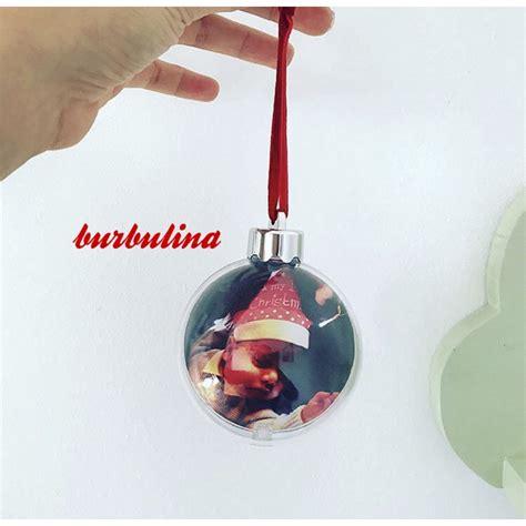 Bola para arbol de navidad con foto