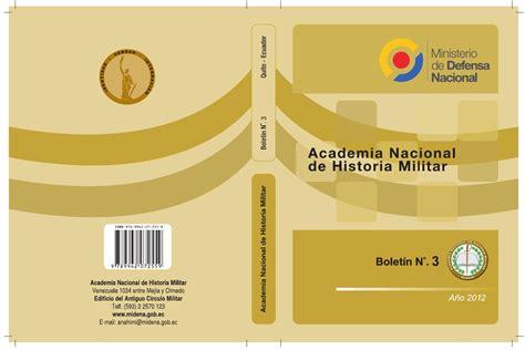 Boletín 3 de la Academia Nacional de Historia Militar by ...