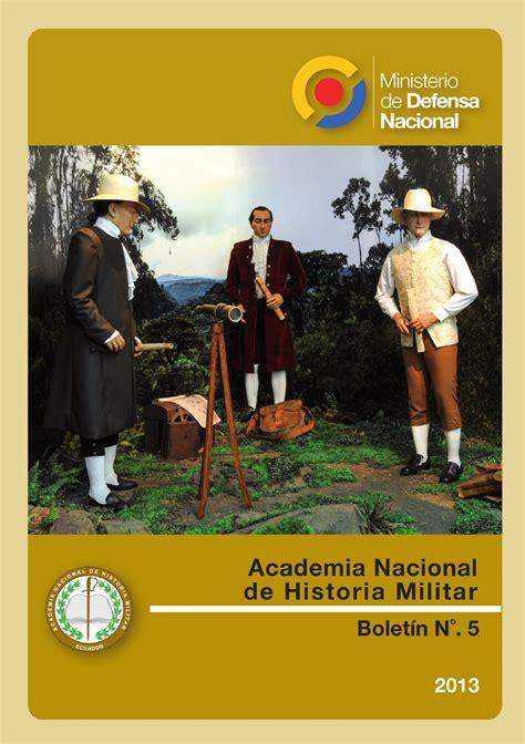 Boletín 5 de la Academia Nacional de Historia Militar by ...