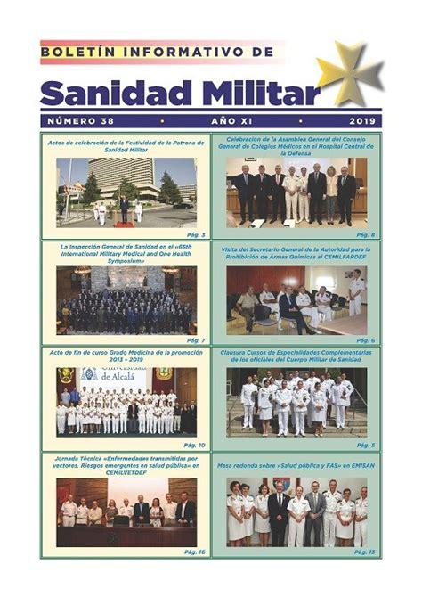 BOLETÍN INFORMATIVO DE SANIDAD MILITAR 38