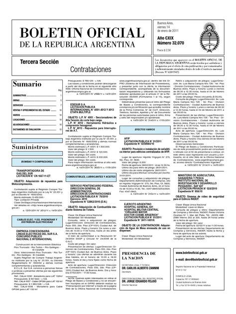 Boletín_Oficial_2.011 01 14 Contrataciones   Buenos Aires ...