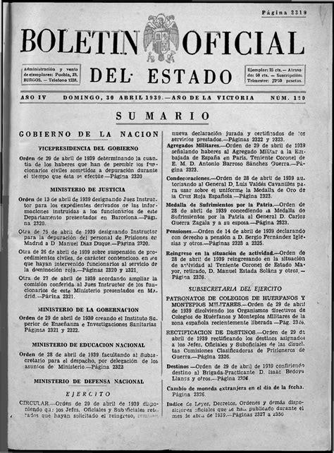 BOLETIN OFICIAL   Biblioteca Virtual de Defensa