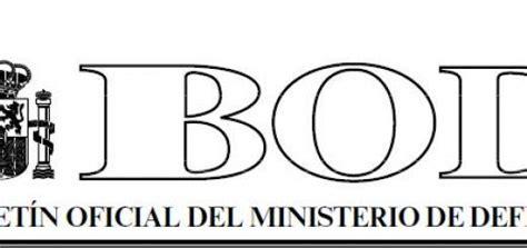 BOLETÍN OFICIAL DE DEFENSA Archivos   A.T.M.E. Asociación ...