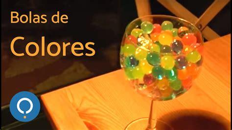 Bolitas de gel de colores   YouTube