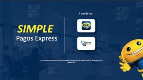 BOLIVIA: Banco Bisa lanzó Simple Pagos Express en la 1ra ...