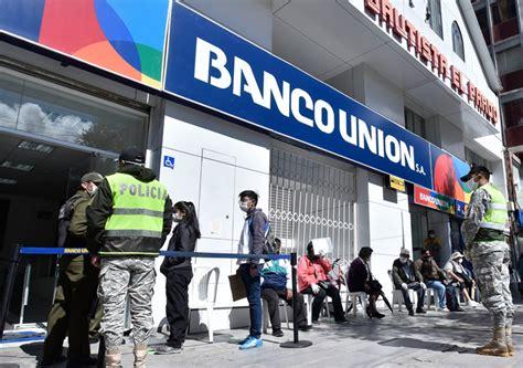 Bolivia: Banco Unión inicia pago de Bono Familia de Bs 500 ...
