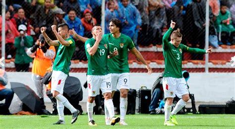Bolivia vence 2 0 a Argentina en la altura de La Paz