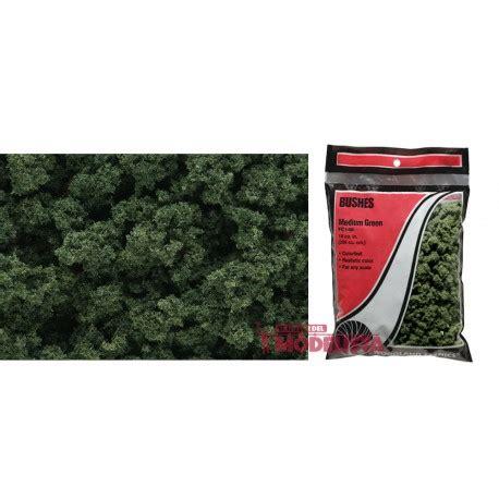 Bolsa de matorral verde medio.   El Taller del Modelista SL