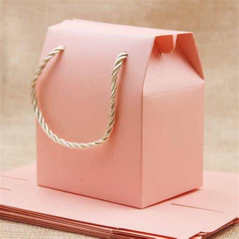 Bolsas de regalo rosa/púrpura/beige con asas cajas de ...