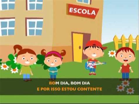 Bom dia, vou p ra escola  @Jardim de Infância 6    YouTube