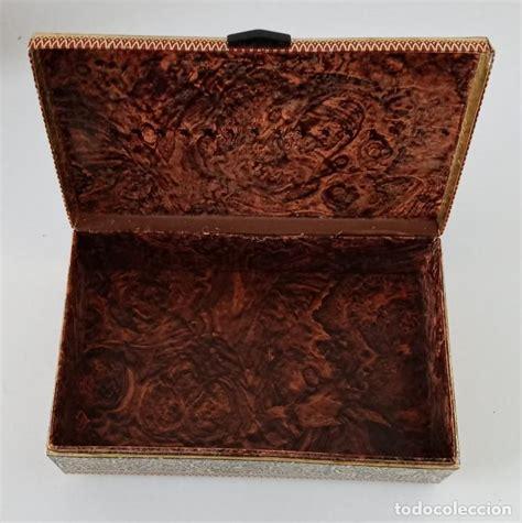 bonita caja de cartón con motivos indúes. 21 x   Comprar ...
