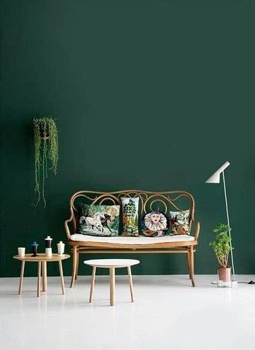 Bonitas tonalidades y colores verdes para paredes