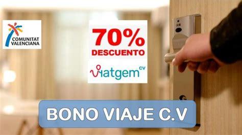 Bono Viaje Comunidad Valenciana | tusercotravel.com