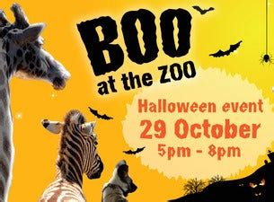 Boo At the Zoo Tickets | Family Attractions Show Times ...