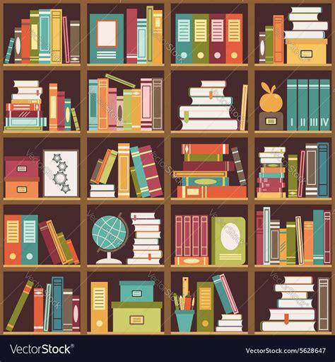 Bookcase Background Images Beautiful Bookshelf with Books ...