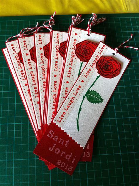 Bookmark. Punt de llibre per Sant Jordi | My scrap cards ...