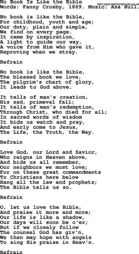 Books of the bible song lyrics MISHKANET.COM