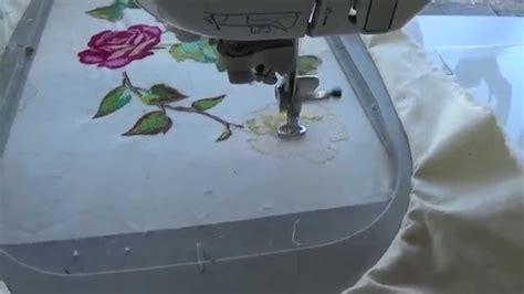 Bordar a Maquina de coser brother innovis 1500   YouTube