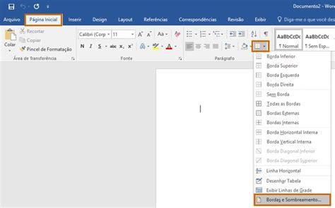 Bordas para Word: saiba como decorar documentos ou imagens ...