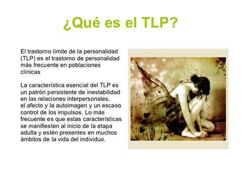 Borderline   TLP  trastorno limite información