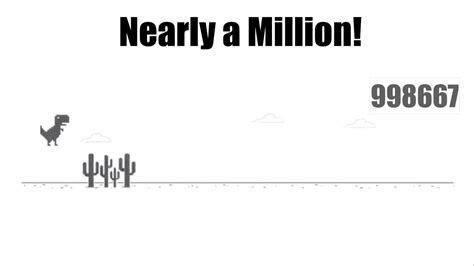 Bot Plays Chrome Dinosaur Game  Nearly Reaches a Million ...